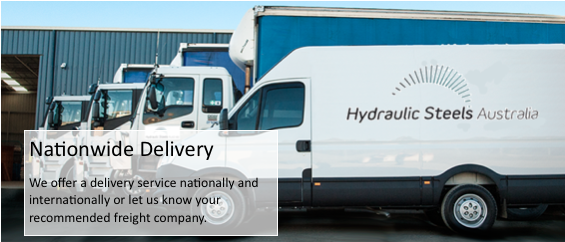 Hydraulic Steels Nationwide Delivery
