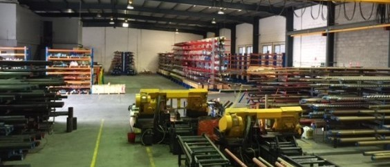 hydraulic steel warehouse